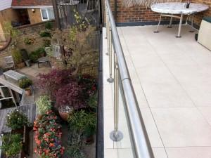 Porcelain Tile Flat Roof Flooring4